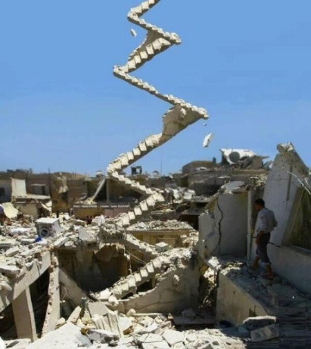 Stairway to Aleppo