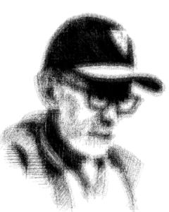 Emilio Arechaederra Sr. charcoal