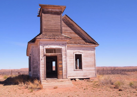 Abandoned Desert Church