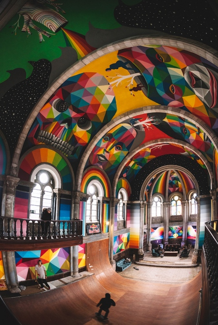 Church of the Half Pipe