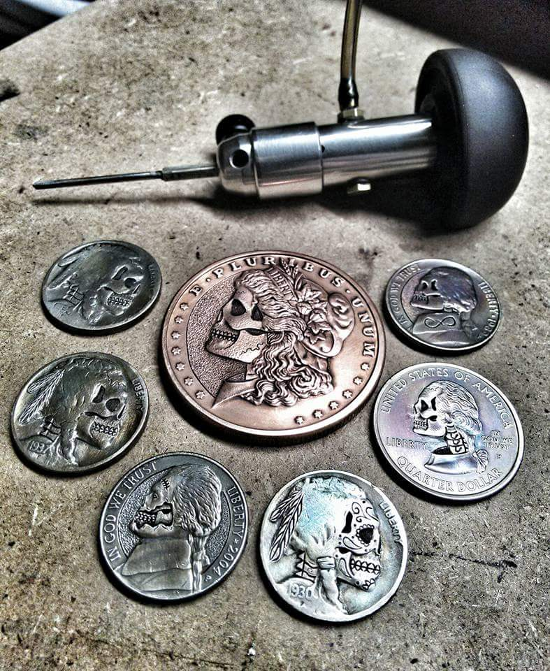 Coin Disfiguration