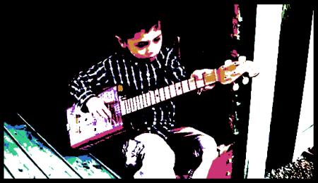 Gas Can Guitar Boy