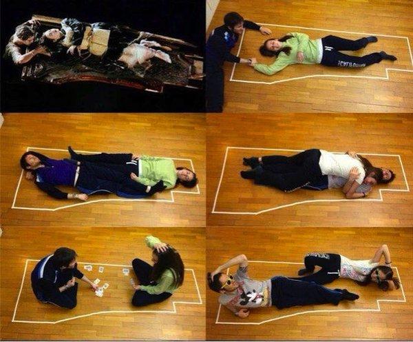 Great Titanic Door Study