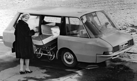 1964 Soviet Taxi Prototype 5