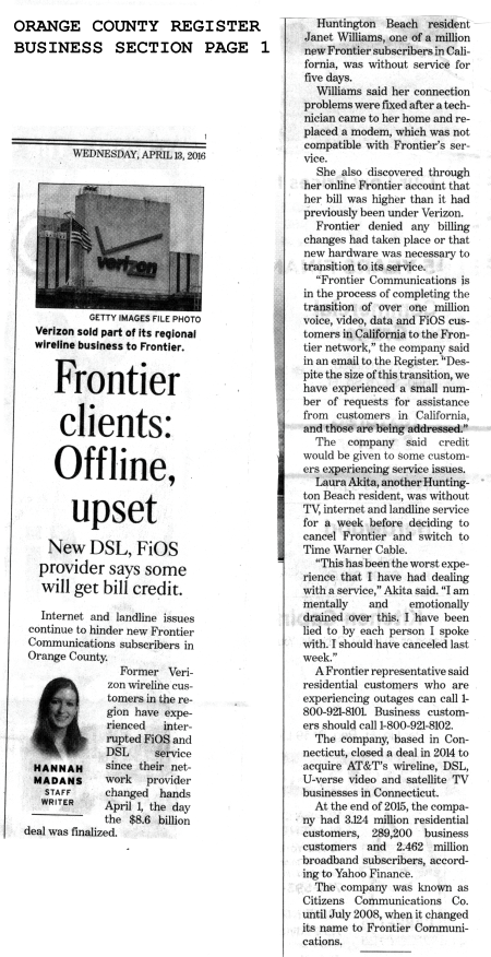 160413 OC Register Business Page 1