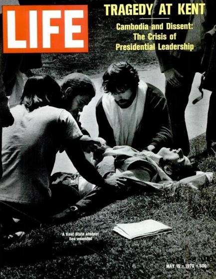 Kent State 1970 Life Magazine Cover