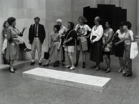 Art Installation Carl Andre