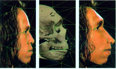 Neanderthal facial reconstruction