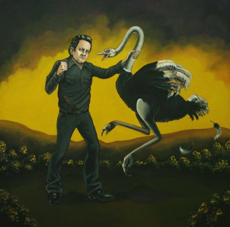 johnny-cash-with-ostrich