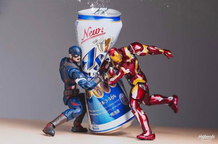 action-figures-crushing-beer-cans-1