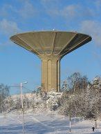 Roihuvuori_water_tower_Helsinki_Finland