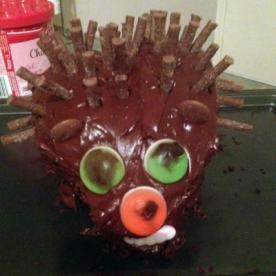Hedgehog Cake 8