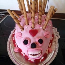 Hedgehog Cake 9