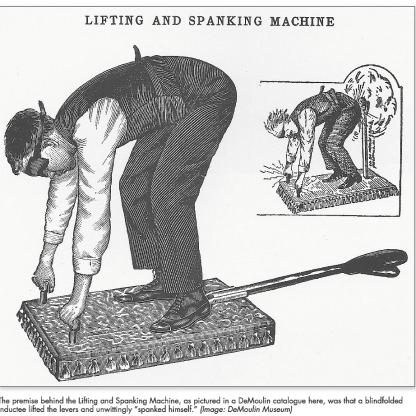 DeMoulin Spanking Machine