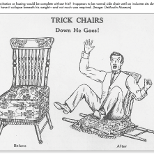 DeMoulin Trick Chair