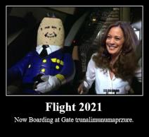 Biden Harris Flight 2021