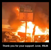 BLM thanks