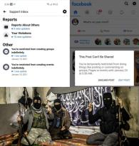 FB Warmongering