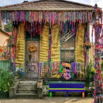 Mardi Gras Float House 1