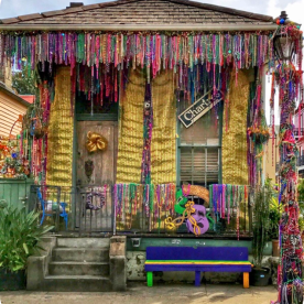 Mardi Gras Float House 1