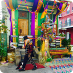 Mardi Gras Float House 4