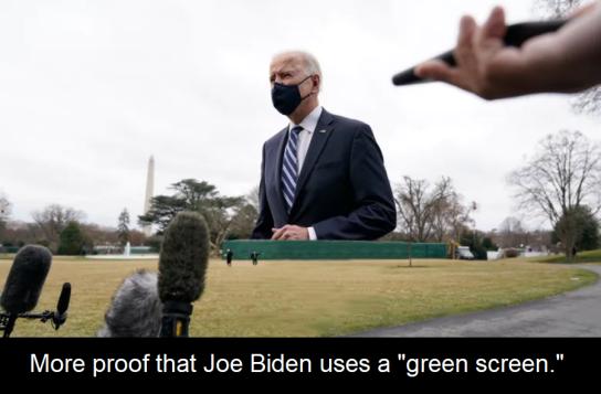 Biden Green Screen