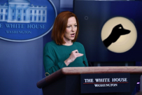 Psaki Shadow Puppet