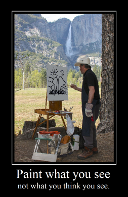 Paint What You See