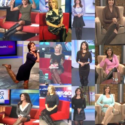 Newswomen In Boots 4