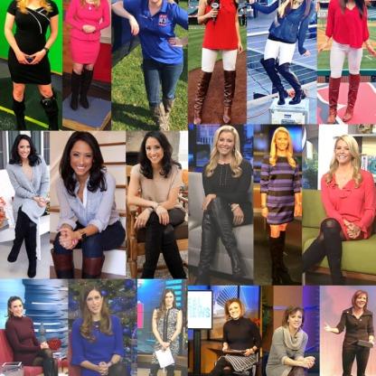 Newswomen In Boots 5