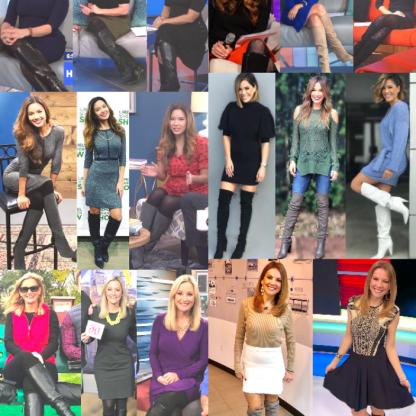 Newswomen In Boots 6