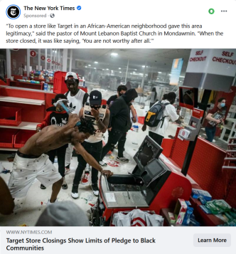 NYT Target Store Closings