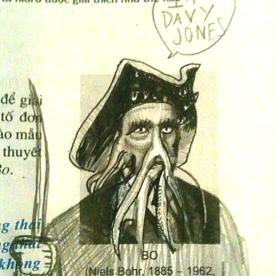 Defacing Textbooks 4 - Davy Jones