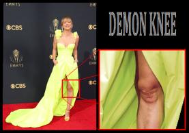 Kaley Cuoco Demon Knee 1