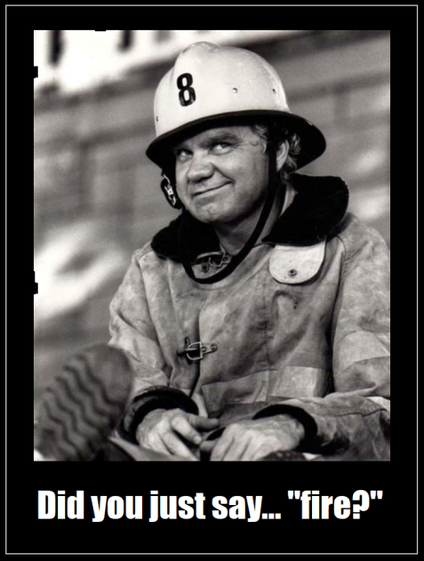 Michael J. Pollard fireman